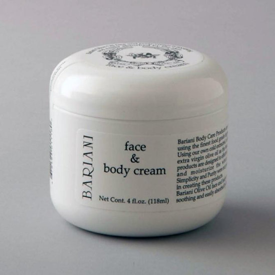 Olive Oil Face and Body Cream - 4 oz