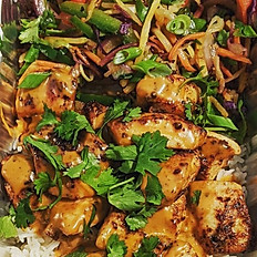Curry Peanut Chicken