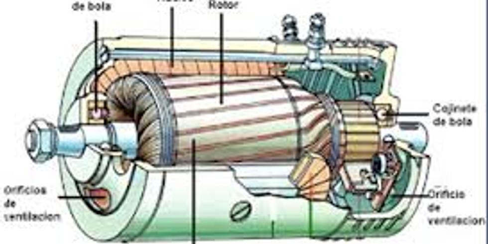 Fem electricitat amb una màquina síncrona