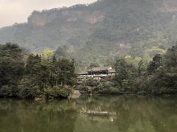 Ascending Mount Qingcheng