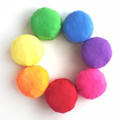 Macarons (Rainbow)