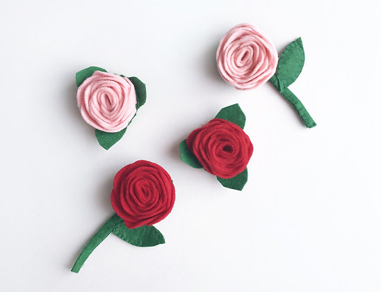 Rose pin small