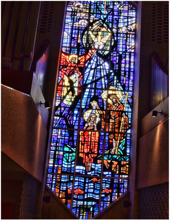 Baptistry Stained Glass