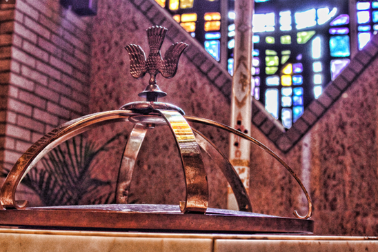 Detailed Baptistry