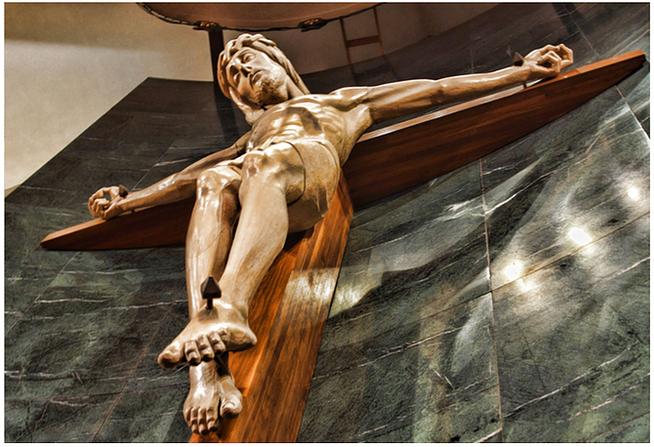 Crucifix in Sactuary