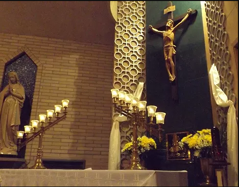 Adoration Chapel Altar