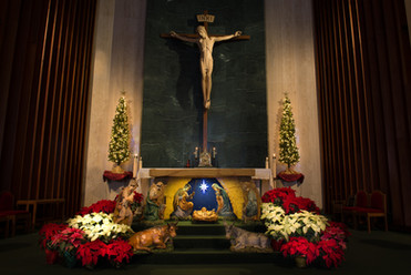 Sanctuary During Christmas