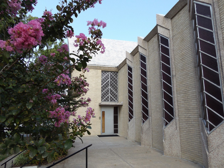Chapel Side of Church