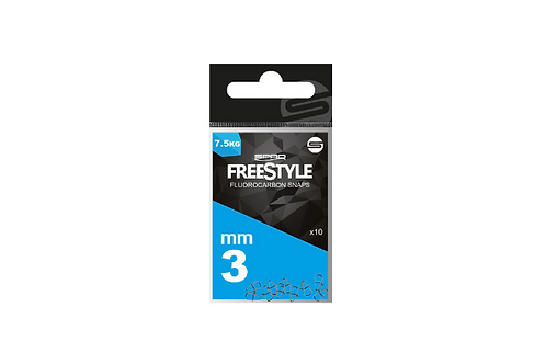 Spro Freestyle - 4mm Reload Fluoro Snaps