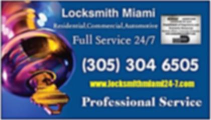 Full Locksmith Services in Miami
