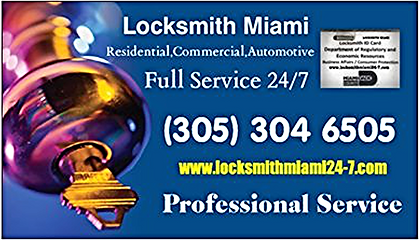 Full Locksmith Services in Miami