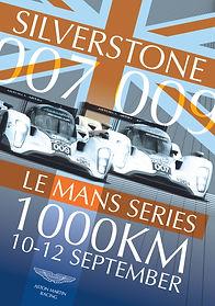 Aston Martin Silverstone Poster