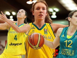 New Look Opals Features Former E.Bees Player - Jenna O'Hea