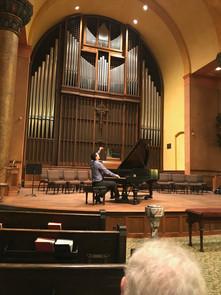 Solo Piano Recital Dominion Chalmers