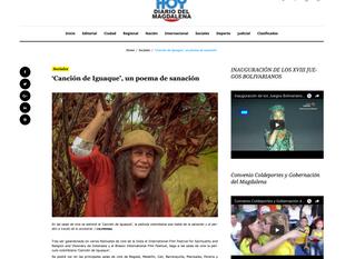 Diario el magdalena y 'Canción de Iguaque'