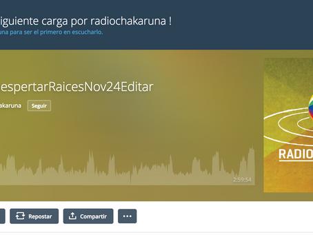 RADIO CHAKARUNA HABLANDO SOBRE 'CANCIÓN DE IGUAQUE'