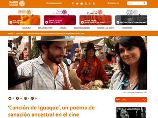 Radio Nacional y 'Canción De Iguaque'