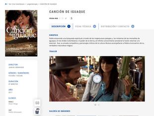Pro-imágenes, 'Canción de Iguaque' y su estreno en 2017