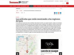 Revista Semana y Canción de Iguaque