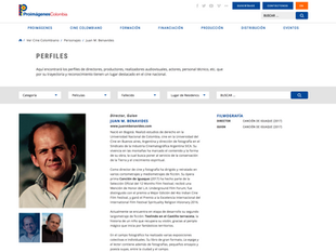 Juan M. Benavides en Pro-Imágenes