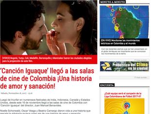 Bucaramanga habla de Canción de Iguaque