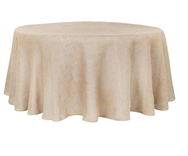 Burlap Table Cloths