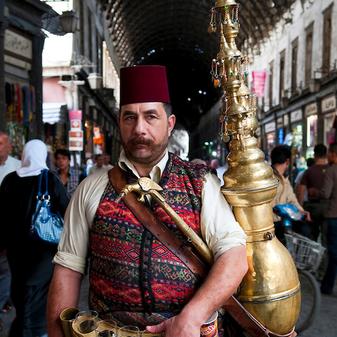 Tea Man, Souk el Hamadiya