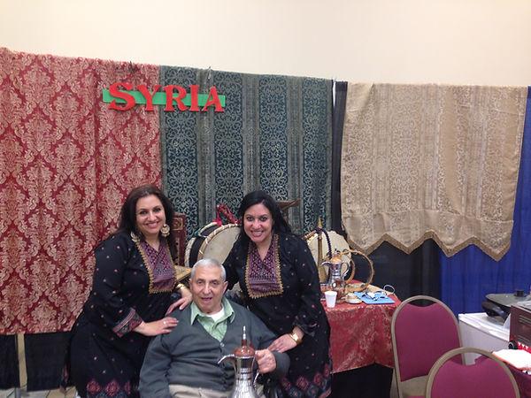 DADDY, LEILA & DALEL - SYRIA FOLK FESTIV