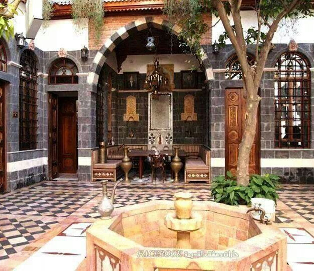 Damascene Courtyard