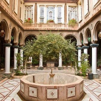 Damascene Courtyard