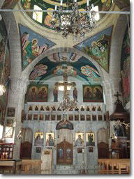 Inside St. Thekla Church
