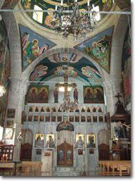 Inside St. Thekla Church