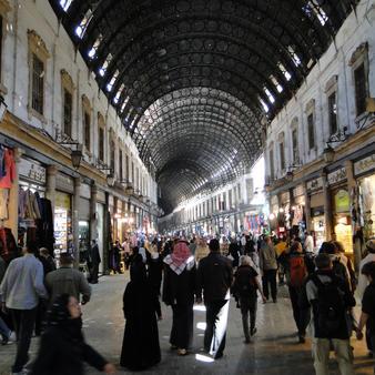 Souk Hamadiya, Damascus