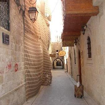 Alleyway in Aleppo