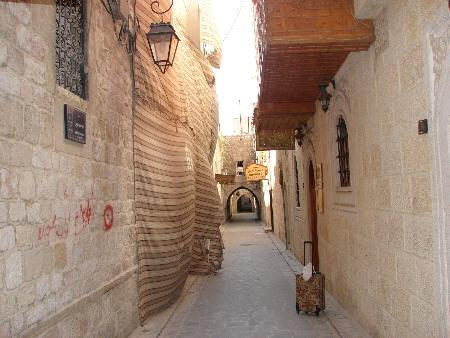 Alleyway in Aleppo