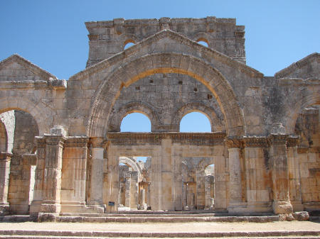St. Simeon the Stylite Monestary, Aleppo