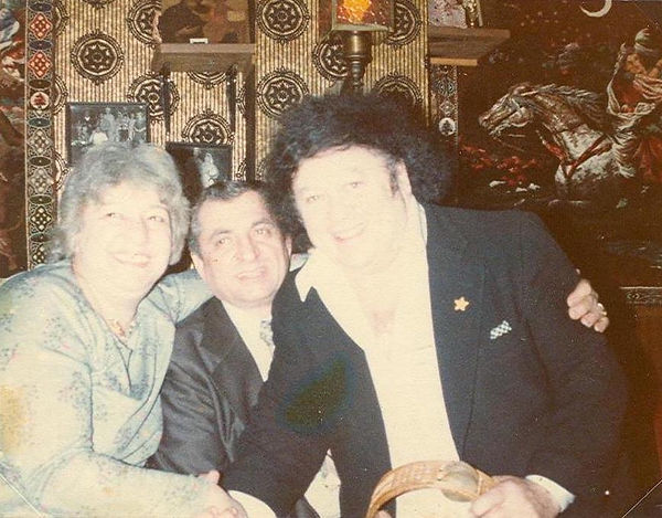 Aggie, Mike Khalil & Marty Allen at Khal
