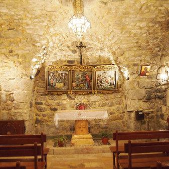 The house of Saint Ananais, Damascus