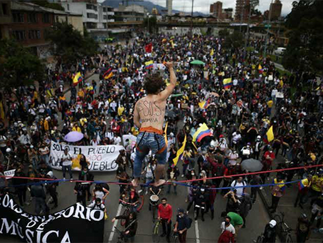 What is happening in Colombia?