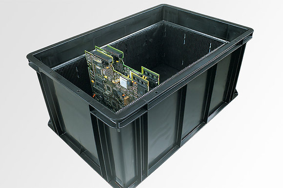 קופסאות פלסטיק אנטי סטטיות