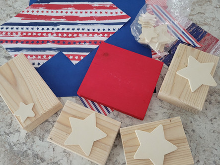 3 Easy Patriotic wood projects anyone can make and probably won't cost a thing!