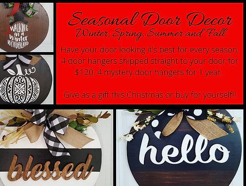 Seasonal Door Decor