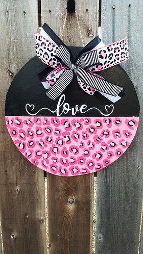 Valentine's wreath,  Valentine's day door hanger,  Valentine's decor