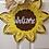 Thumbnail: Sunflower door hanger, summer door hanger, summer door,sunflower decor