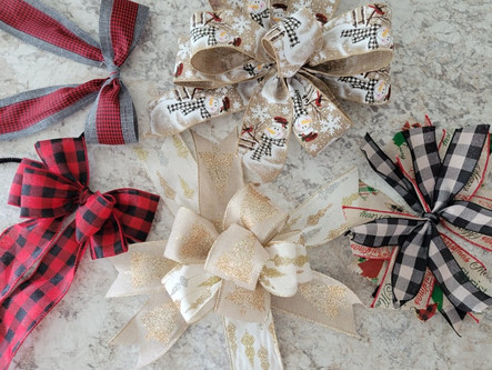 Christmas in July - it was a week full of Christmas crafts!