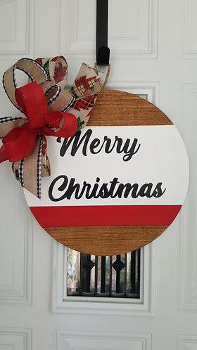 Christmas door hanger,  Christmas decor,  Christmas front door