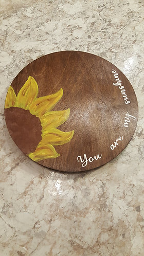 """12"""" personlized lazy susan, table top home decor, personlized gift"""
