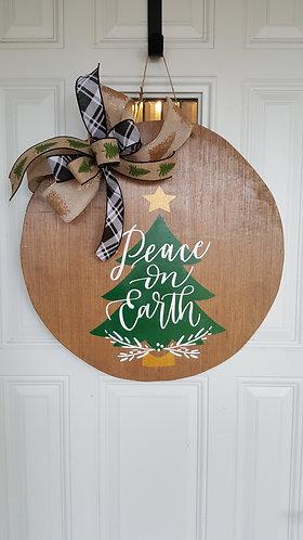 Winter door hanger,  Christmas wreath,  winter wreath,  winter front door wreath