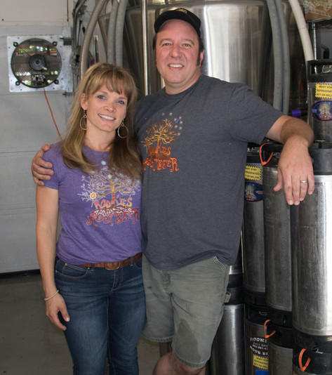 Jenny and Dave Rooke of Rookie's Root Beer
