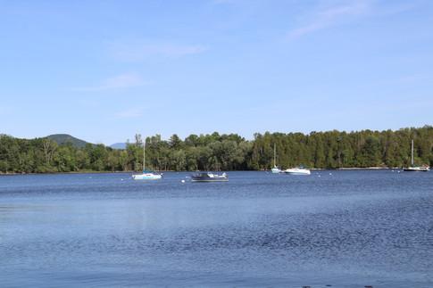 An evening on Lake Champlain.